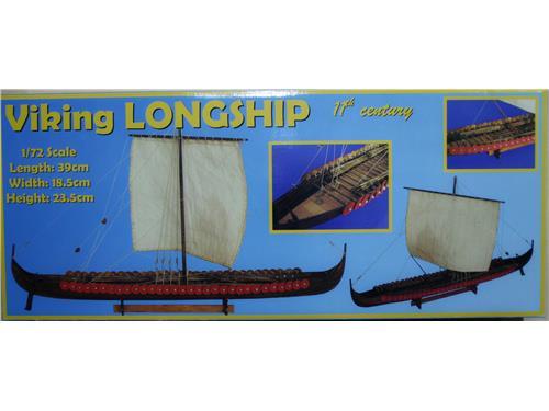 Viking Longship 11° century - art. D014 - Daniel Dusek 1/72