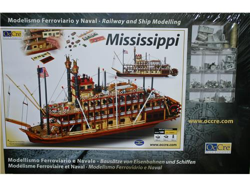 Mississippi - battello fluviale - art. 14003 - Oc.Cre 1/80