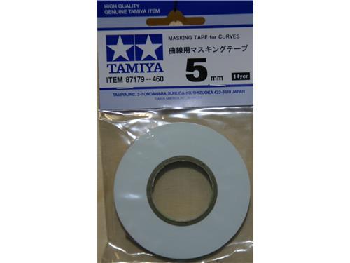 Nastro per mascheramenti per curve , 5mm. - art. 87179**460 -Tamiya