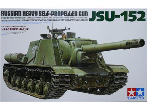 JSU-152 - russian heavy self-propelled gun - art. 35303 - Tamiya 1/35