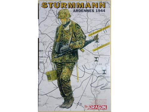 Sturmmann - Ardennes 1944 - kit figurini Dragon scala 1/16