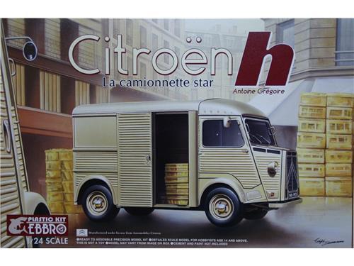 Citroen h Antoine Grégoire - art. 25007-4800 - Ebbro plastic Kit 1/24