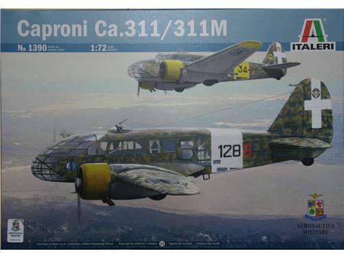 Caproni Ca.311/311M - art. 1390 - Italeri 1/72