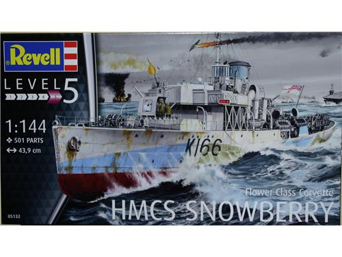 HMCS Snowberry - flower class corvette - art. 05132 - Revell 1/144