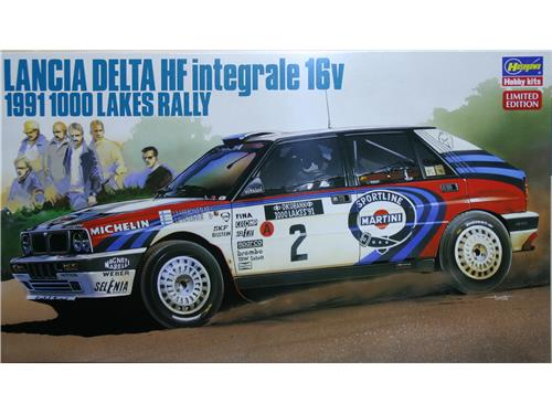 Lancia Delta HF integrale 16v 1991 1000 Lakes rally - art. 20289 - Hasegawa 1/24