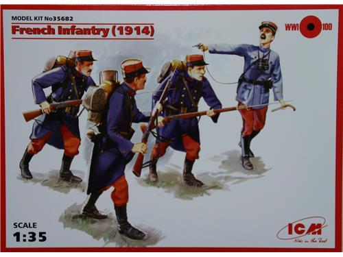 French infantry (1914) - art. 35682 - ICM 1/35