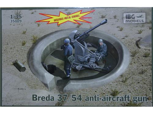 Breda 37/54 anti-craft gun - art. 35009 - IBG models 1/35