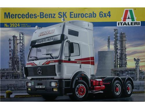 Mercedes-Benz SK Eurocab 6x4 - art. 3924 - Italeri 1/24