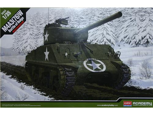M4A3(76)W - battle of Bulge - art. 13500 - Academy 1/35