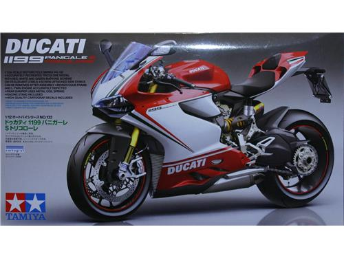 Ducati 1199 Panigale S tricolore - art. 14132 - Tamiya 1/12