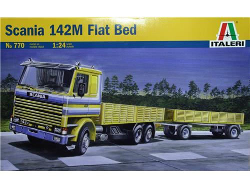 Scania 142M Flat Bed - art. 770 - Italeri 1/24