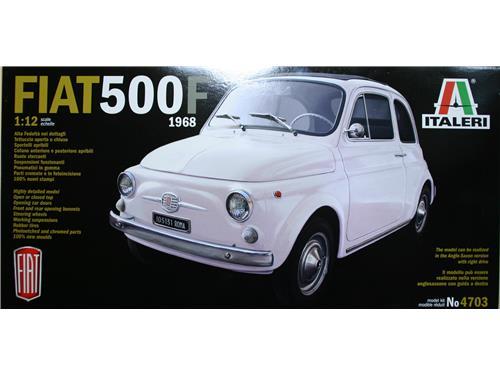 Fiat 500F 1968 - art. 4703 - Italeri 1/12