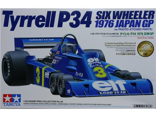 Tyrrell P34 six wheeler - art. 20058 - Tamiya 1/20