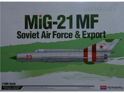 MIG-21 MF - Soviet Air Force & Export - art. 12311 - Academy 1/48