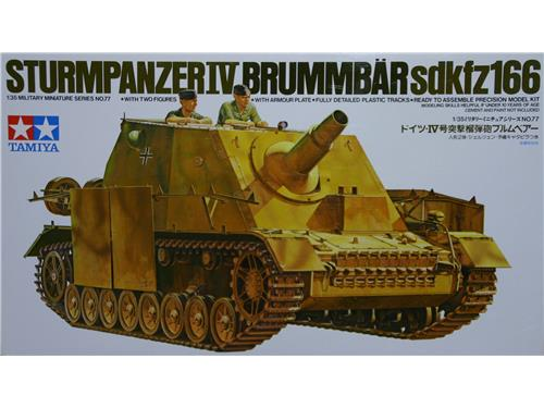 Sturmpanzer IV Brummbar Sdkfz166 - art. 35077 - Tamiya/35