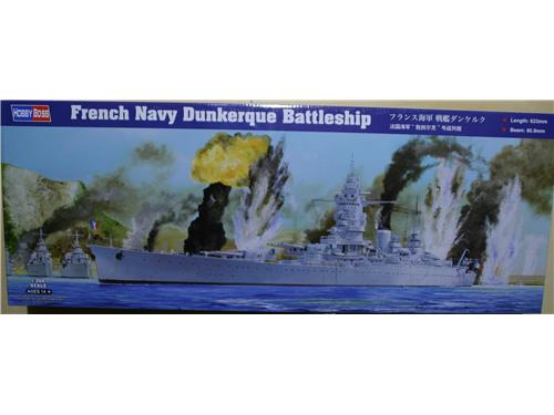 French Navy Dunkerque Battleship - art. 86506 - HobbyBoss 1/350