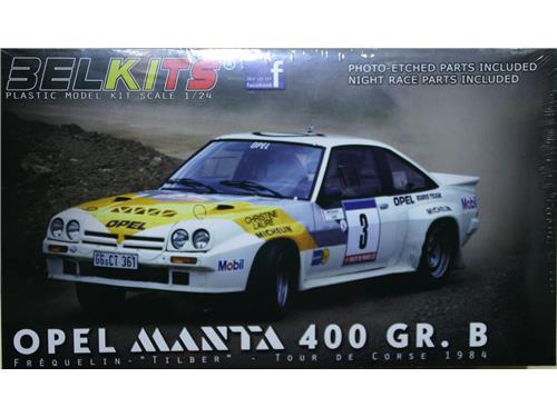 Opel Manta 400 GR. B - art. BEL-008 - Belkits 1/24