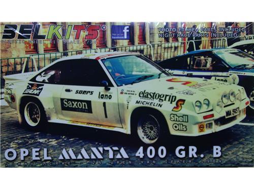 Opel Manta 400 GR. B - art. BEL-009 - Belkits 1/24