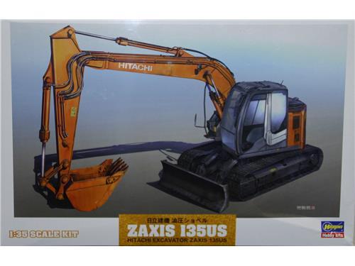 Zaxis 135us Hitachi excavator - art. 66001 - Hasegawa 1/35