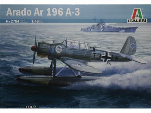 Arado Ar 196 A-3 - art. 2784 - Italeri 1/48