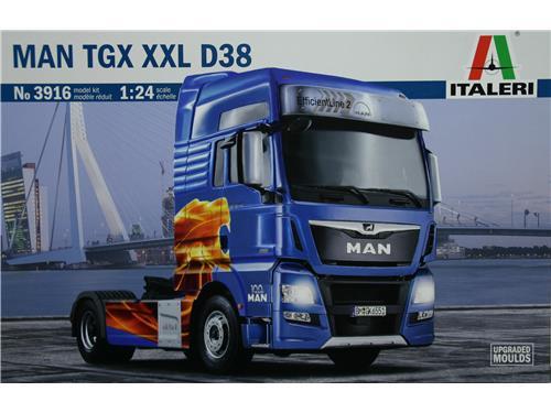 MAN TGX XXL D38 - art. 3916 - Italeri 1/24