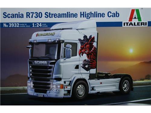 Scania R730 Streamline Highline Cab - art. 3932 - Italeri 1/24