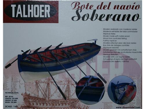 Bote de navio Soberano - art. 20163 - Talhoer 1/40