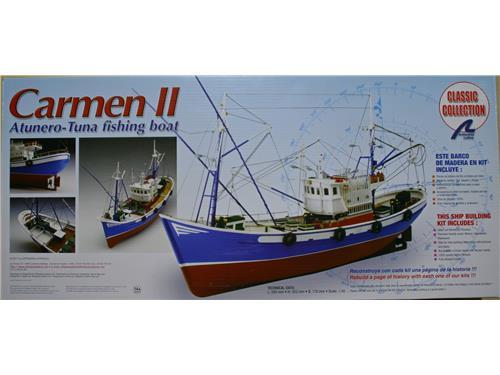 Carmen II - atunero - tuna fishing boat - art. 18030 - Artesania Latina 1/40