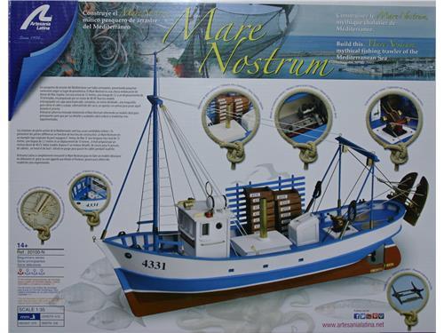 Mare nostrum - art. 20100-N - Artesania Latina  1/35