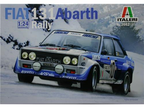 Fiat 131 Abarth rally - art. 3662 - Italeri 1/24