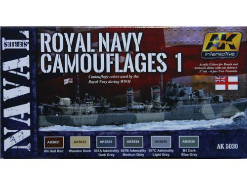 Royal Navy Camouflage 1 - WWII - art. AK 5030