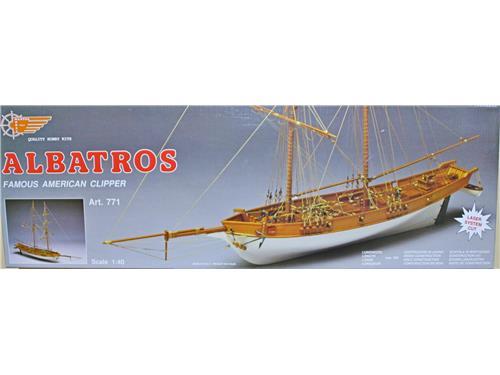 Albatros - Famous American Clipper. art. 771 -kit navi legno Mantua 1/40