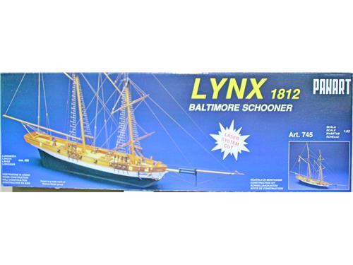 Lynx 1812 Baltimore schooner - art. 745 - Panart 1/62