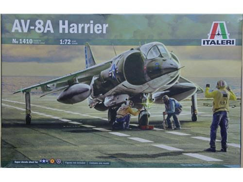 AV-8A Harrier - art. 1410 - Italeri 18/72