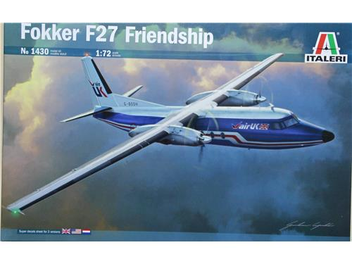 Fokker F27 Friendship - art. 1430 - Italeri 1/72