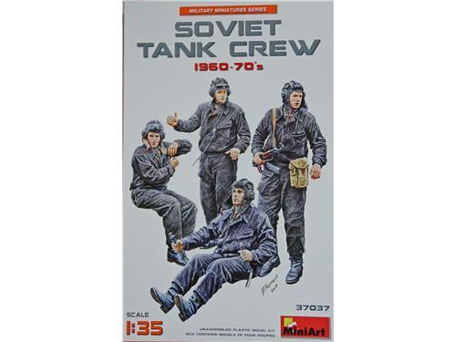 Soviet tank crew 1960-70's - art. 37037 - MiniArt 1/35