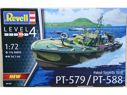 PT-579 / PT-588 - Patrol Torpedo Boat - art. 05165 - Revel 1/72