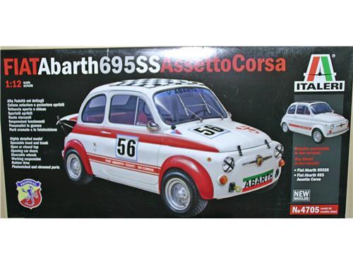 Fiat Abarth 695SS Assetto Corsa - art. 4705 - Italeri 1/12