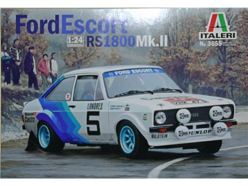 Ford Escort RS1800Mk.II - art. 3655 - Italeri 1/24