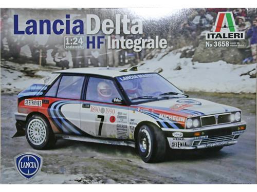 Lancia Delta HF Integrale - art. 3658 - Italeri 1/24