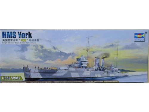 HMS York - art. 05351 - Trumpeter 1/350