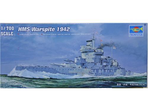 HMS Warspite 1942 - art. 05795 - Trumpeter 1/700