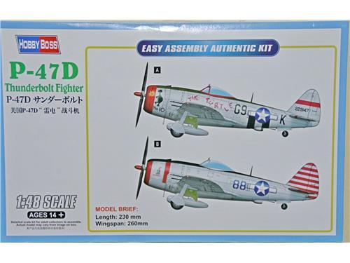 P-47D Thunderbolt Fighter - art. 85811 - Hobby Boss 1/48