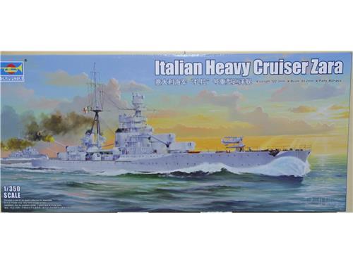 Italian HeavyCruiser Zara - art. 05347 - Trumpeter 1/350