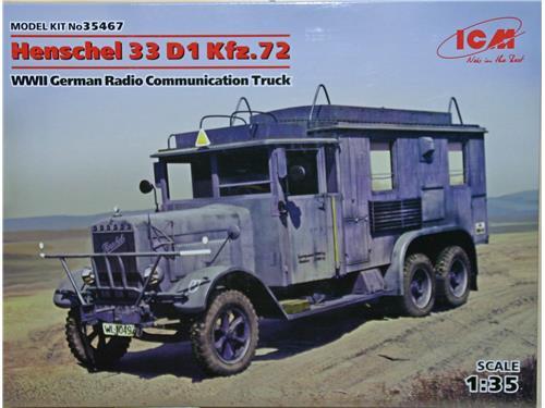 Henschel 33 D1 Kfz.72 - art. 35467 - ICM 1/35