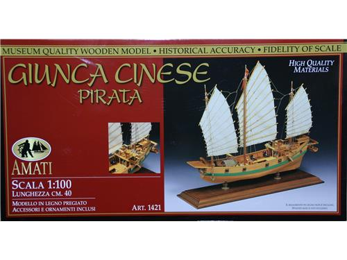Giunca Cinese Pirata - art. 1421 - Amati 1/100