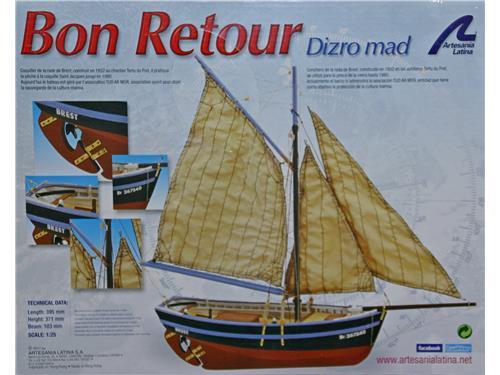 Bon Retour - art. 19007 - Artesania Latina 1/25