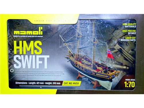 Swift 1776 - art. MV59 - Mamoli 1/70