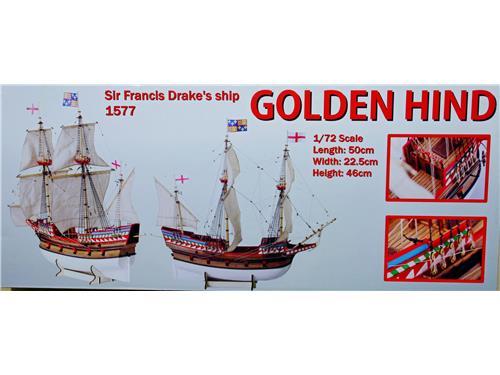 Golden Hind - art. D017 - Daniel Dusek 1/72