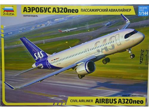 Airbus A320neo - art.7037 - Zvezda 1/144